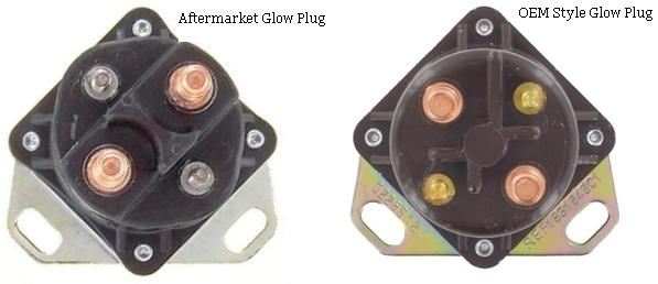 Glow Plug Relay Solenoid Fits Ford F